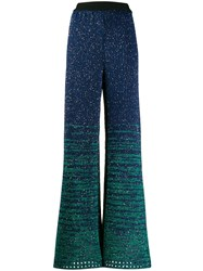 M Missoni Sequinned Knitted Trousers 60