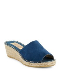Vidorreta Summer Wedge Espadrilles Blue