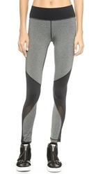 Michi Rifical Leggings Heather Grey Black