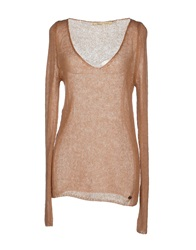Ottod'ame Sweaters Camel