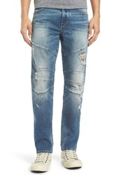 True Religion Men's Big And Tall Brand Jeans Geno Straight Leg Jeans Dqfm Worn Rebellion
