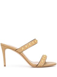Casadei Studded Double Strap Mules 60