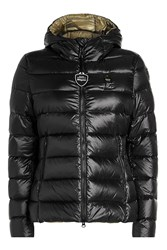 Blauer Giubboni Quilted Down Jacket Black