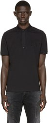 Balmain Black Logo Polo