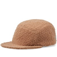 Larose Paris Casentino Wool 5 Panel Cap Brown
