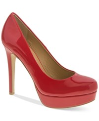 Chinese Laundry Wonder Platform Pumps Women's Shoes Rosie Red Patent