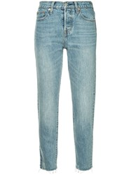 Levi's Wedgie Icon Jean Blue