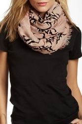 Leigh And Luca Plaid Taupe Black Flock Scarf