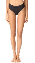 Cosabella Laced In Aire Lowrider Thong Black