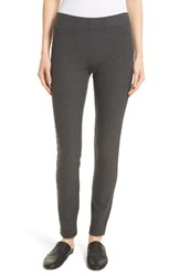 Joseph Women's Stretch Gabardine Leggings Graphite