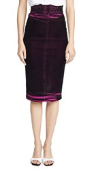 N 21 No. Pencil Skirt Fuxia