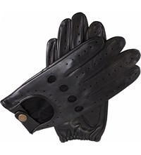 Dents Leather Driving Gloves Black