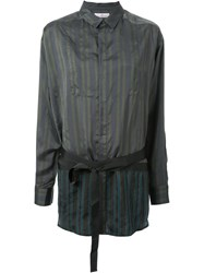 A.F.Vandevorst Striped Shirt Green