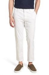 Hudson Jeans Clint Stretch Chino Pants Off White