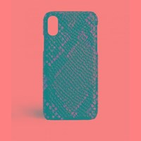 The Case Factory Iphone X Python Multicolor