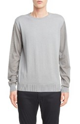 Lanvin Men's Cotton And Wool Colorblock Pullover
