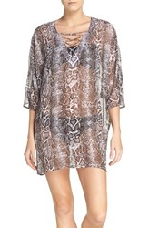 Tommy Bahama Women's Snake Charmer Cover Up Tunic