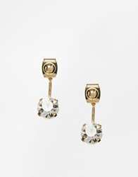 Asos Limited Edition Post Swing Earrings Gold
