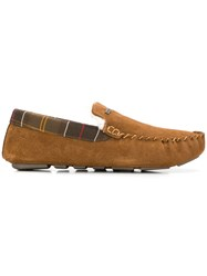 Barbour Faux Shearling Lined Slippers Neutrals