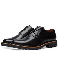 Dries Van Noten Commando Sole Derby Shoe Black