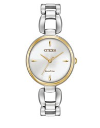 Citizen Eco Drive Stainless Steel Bracelet Watch Silver