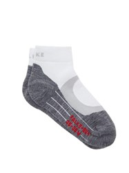 Falke Ru4 Cool Trainer Socks White Multi