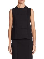 The Row Grida Sleeveless Top Black
