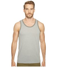 Alternative Apparel Vintage 50 50 Jersey Keeper Tank Top Smoke Grey Vintage Coal Men's Sleeveless Gray