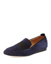 Rag And Bone Rag And Bone Sia Suede Colorblock Loafer Navy