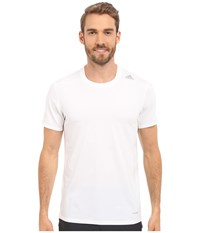 Adidas Techfit Fitted Short Sleeve Tee White Men's T Shirt