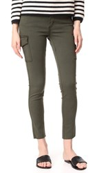 James Jeans Mid Rise Ankle Army Green