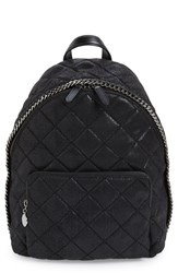 Stella Mccartney 'Mini Falabella' Faux Leather Quilted Backpack