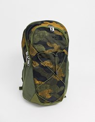 The North Face Rodey Backpack In Khaki Camo Green