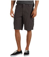Fox Slambozo Solid Cargo Short Charcoal Men's Shorts Gray