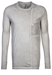 Silent By Damir Doma Tuspi Long Sleeved Top Grey