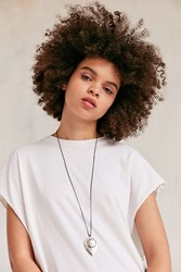 Urban Outfitters Laurel Boho Pendant Necklace Silver