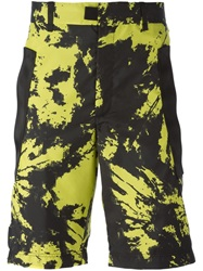 Alexander Wang Tie Dye Shorts Yellow And Orange