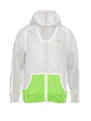 Adidas By Kolor Spacer Zip Through Mesh Jacket Grey Multi