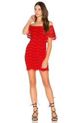 Nightcap Bachelorette Mini Dress Red
