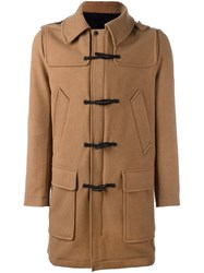 Ami Alexandre Mattiussi Duffle Coat Nude And Neutrals