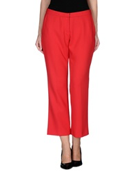 Erika Cavallini Semi Couture Erika Cavallini Semicouture Casual Pants Red