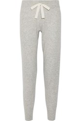 Elizabeth And James Sandra Knitted Track Pants Light Gray