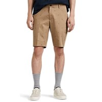 Paul Smith Palm Tree Pattern Cotton Blend Shorts Beige Tan
