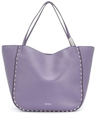 Jimmy Choo Stevie Tote Purple