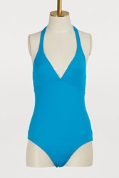 Vilebrequin Fames One Piece Swimsuit Blue