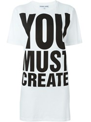 Ymc 'Katharine E Hamnett At Ymc' T Shirt White