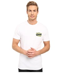 O'neill Interstate Short Sleeve Screen Tee White Men's T Shirt