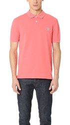 Paul Smith Zebra Logo Polo Pink