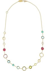 Ippolita Lollipop Lollitini 18 Karat Gold Multi Stone Necklace