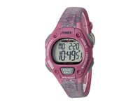 Timex Ironman Classic 30 Mid Size Resin Strap Pink Gray Accent Watches